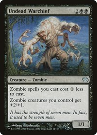 Undead Warchief, Magic: The Gathering, Planechase