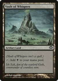 Vault of Whispers, Magic: The Gathering, Planechase