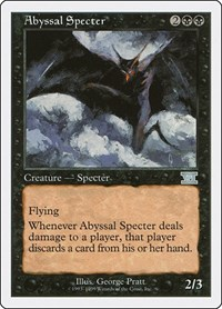 Abyssal Specter, Magic: The Gathering, Battle Royale Box Set