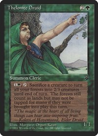 Thelonite Druid, Magic, Fallen Empires