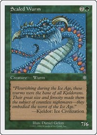 Scaled Wurm, Magic: The Gathering, Battle Royale Box Set