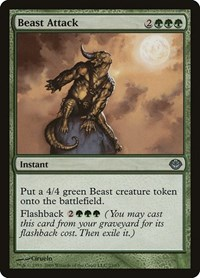 Beast Attack, Magic: The Gathering, Duel Decks: Garruk vs. Liliana