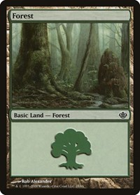 Forest (28), Magic: The Gathering, Duel Decks: Garruk vs. Liliana