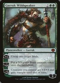 Garruk Wildspeaker, Magic: The Gathering, Duel Decks: Garruk vs. Liliana