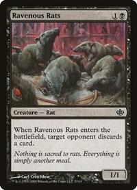 Ravenous Rats, Magic: The Gathering, Duel Decks: Garruk vs. Liliana