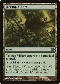 Treetop Village, Magic: The Gathering, Duel Decks: Garruk vs. Liliana