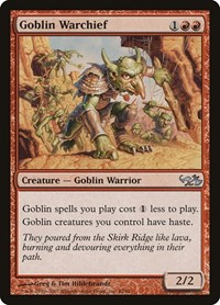 Goblin Warchief, Magic: The Gathering, Duel Decks: Elves vs. Goblins