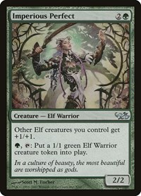 Imperious Perfect, Magic: The Gathering, Duel Decks: Elves vs. Goblins