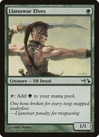 Llanowar Elves, Magic: The Gathering, Duel Decks: Elves vs. Goblins