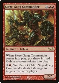 Siege-Gang Commander, Magic: The Gathering, Duel Decks: Elves vs. Goblins