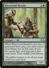 Wirewood Herald, Magic: The Gathering, Duel Decks: Elves vs. Goblins