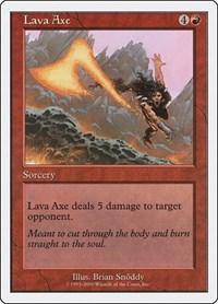 Lava Axe, Magic: The Gathering, Starter 2000