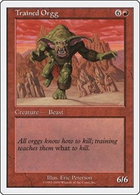 Trained Orgg, Magic: The Gathering, Starter 2000