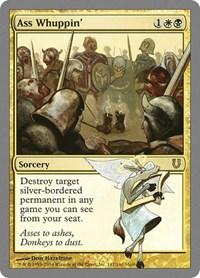 Ass Whuppin', Magic: The Gathering, Unhinged