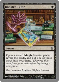 Booster Tutor, Magic, Unhinged