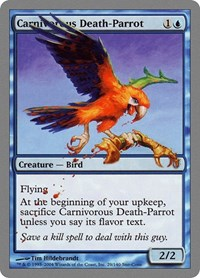 Carnivorous Death-Parrot, Magic: The Gathering, Unhinged