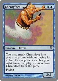 Cheatyface, Magic: The Gathering, Unhinged