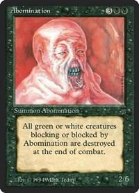 Abomination, Magic, Legends