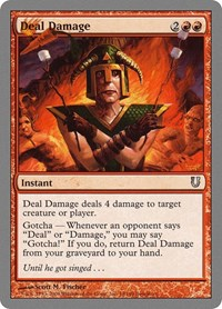 Deal Damage, Magic: The Gathering, Unhinged