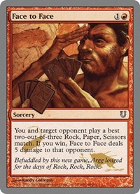 Face to Face, Magic: The Gathering, Unhinged