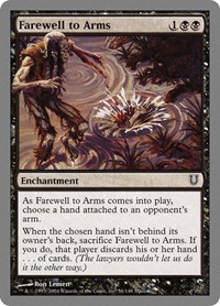 Farewell to Arms, Magic: The Gathering, Unhinged