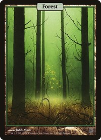 Forest - Full Art, Magic: The Gathering, Unhinged