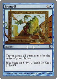 Framed!, Magic: The Gathering, Unhinged