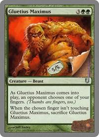 Gluetius Maximus, Magic: The Gathering, Unhinged
