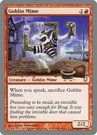 Goblin Mime, Magic: The Gathering, Unhinged