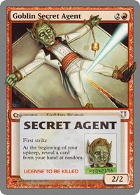 Goblin Secret Agent, Magic: The Gathering, Unhinged