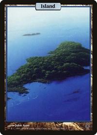 Island - Full Art, Magic: The Gathering, Unhinged