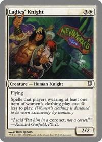 Ladies' Knight, Magic, Unhinged