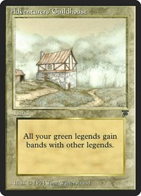 Adventurers' Guildhouse, Magic, Legends