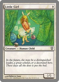 Little Girl, Magic: The Gathering, Unhinged