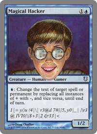 Magical Hacker, Magic: The Gathering, Unhinged