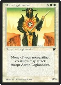 Akron Legionnaire, Magic: The Gathering, Legends