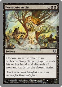 Persecute Artist, Magic: The Gathering, Unhinged