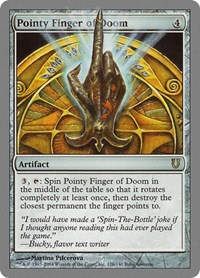Pointy Finger of Doom, Magic: The Gathering, Unhinged