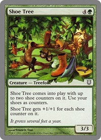Shoe Tree, Magic: The Gathering, Unhinged
