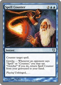 Spell Counter, Magic: The Gathering, Unhinged