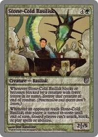 Stone-Cold Basilisk, Magic: The Gathering, Unhinged