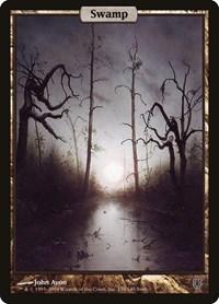 Swamp - Full Art, Magic: The Gathering, Unhinged