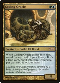 Coiling Oracle, Magic: The Gathering, Arena Promos