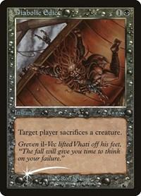 Diabolic Edict, Magic: The Gathering, Arena Promos