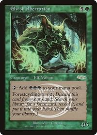 Elvish Aberration, Magic: The Gathering, Arena Promos