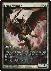 Serra Avenger, Magic: The Gathering, Champs Promos