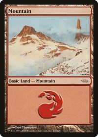 Mountain (2005), Magic: The Gathering, Arena Promos