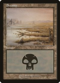 Swamp (2003), Magic: The Gathering, Arena Promos