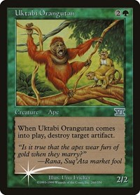 Uktabi Orangutan, Magic: The Gathering, Arena Promos
