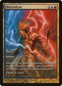 Electrolyze, Magic: The Gathering, Champs Promos